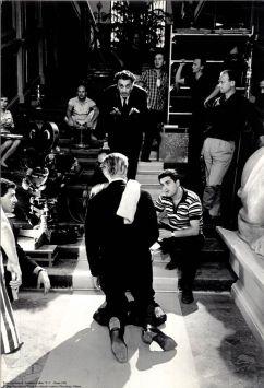 Fellini ocho y medio rodaje