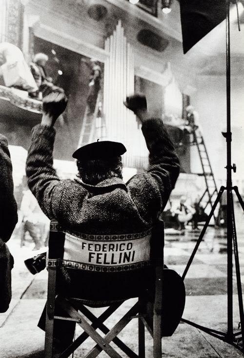 Fellini ocho y medio rodaje 3